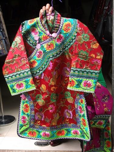 彝族刺绣品